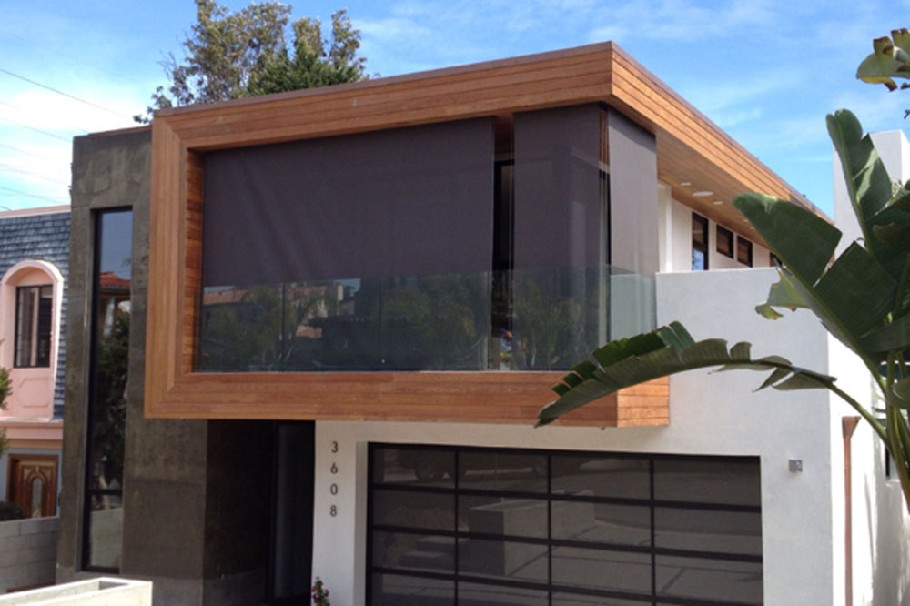 Stunning Motorized Exterior Shades Ideas Amazing House