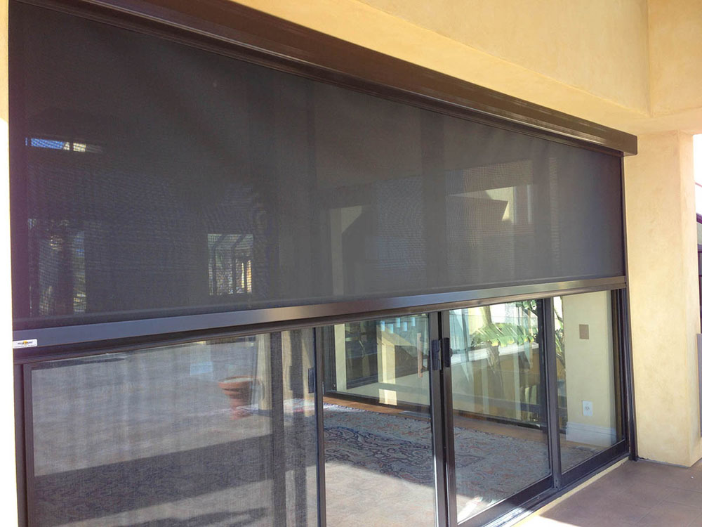 Retractable Awning Lutron Shades Mechoshade Window