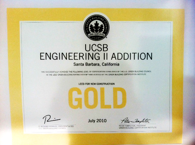UCSB ENGINEERING II ADDITION
