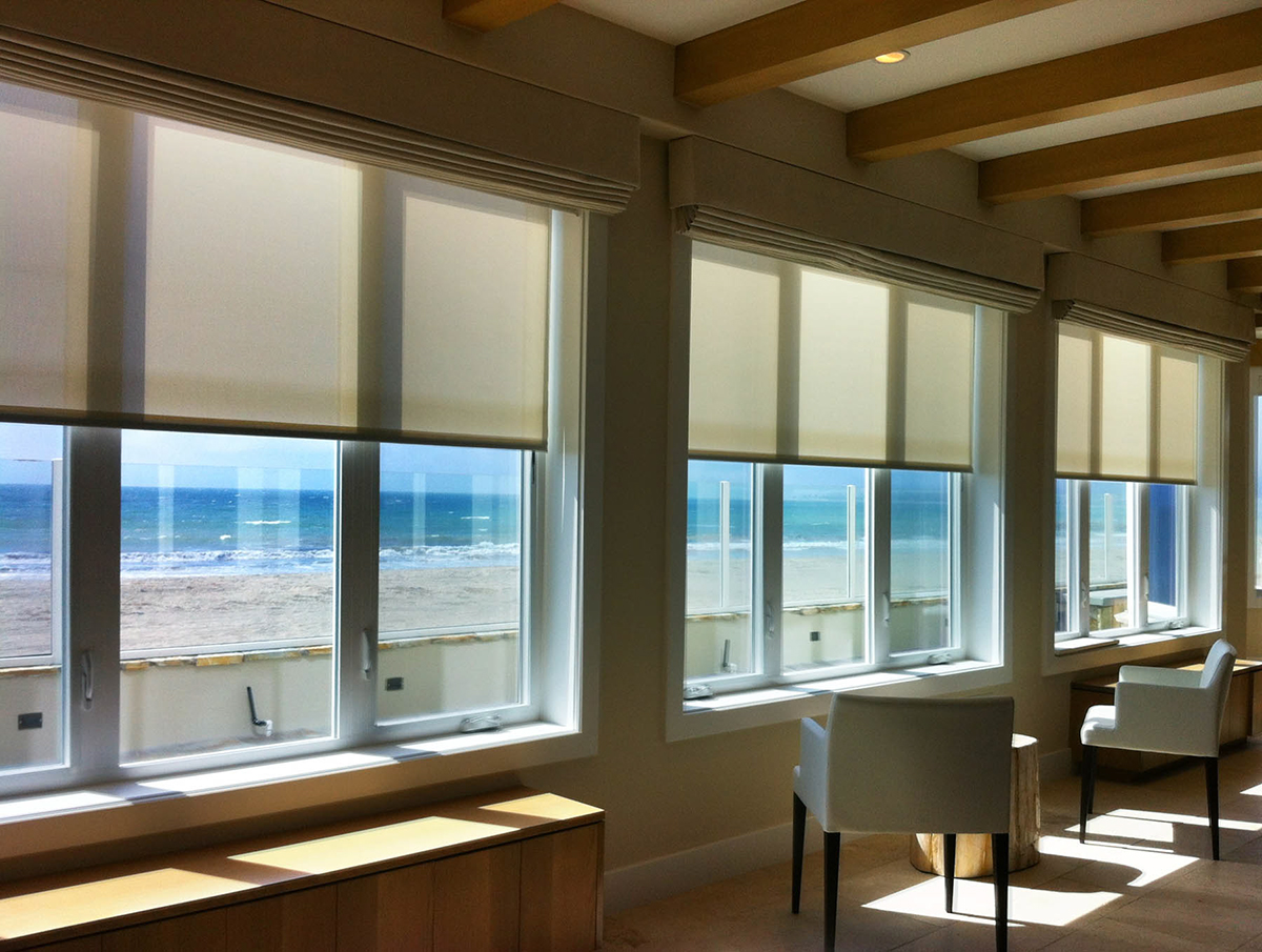 Building Automation Solar Shades Springs Window